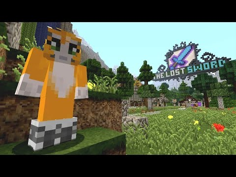 Minecraft Xbox The Lost Sword Stampy Cats {1}
