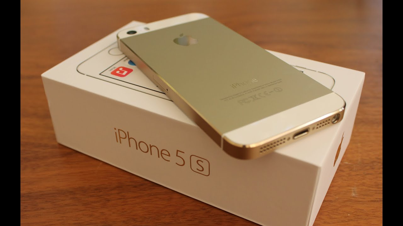 Iphone 5s Gold Unbox Gold Iphone 5s Unboxing And