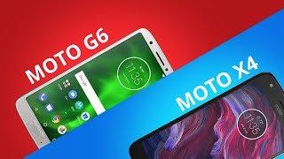 Moto G6 vs Moto X4 [Comparativo]