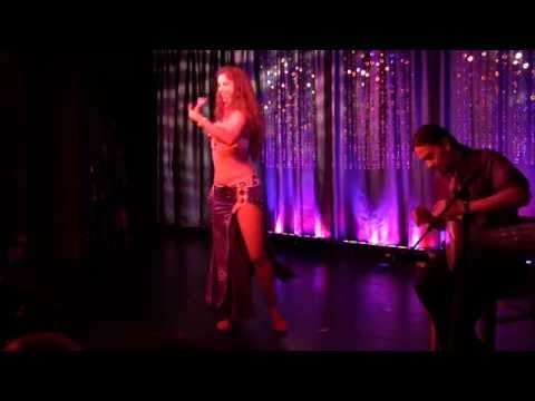 Sadie Bellydance and David Hinojosa Drum Solo HD
