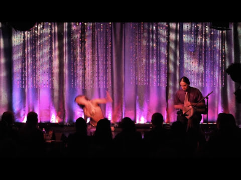 Sadie Bellydance and David Drum Solo HD