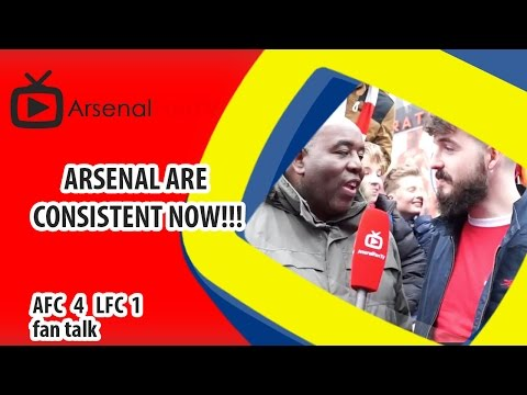 Arsenal Are Consistent Now!!! | Arsenal 4 Liverpool 1