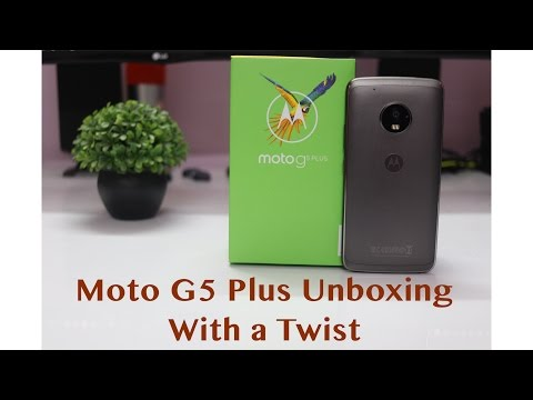 Moto G5 Plus Unboxing With A Fun Twist (Indian Retail Unit)