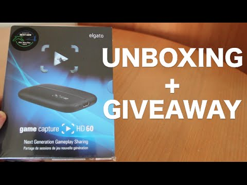 Elgato HD60 Unboxing + GIVEAWAY!!
