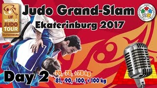 Judo Grand-Slam Ekaterinburg 2017: Day 2