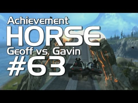 Halo: Reach - Achievement HORSE #63! (Geoff vs. Gavin)