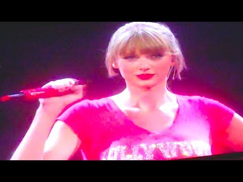 TAYLOR SWIFT SURPRISES CROWD WITH SPECIAL GUEST!