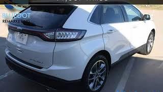 2016 Ford Edge Titanium   TECH PACKAGE-BLIND SPOT MONITOR- Titanium Used Cars - Mansfield,TX - 2017-