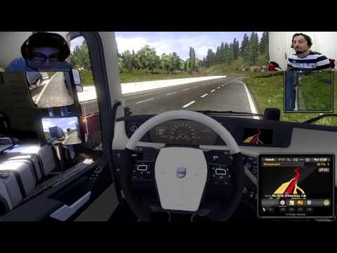 Euro Truck Simulator 2 Türkçe Multiplayer | Dehşet Kaza ve Bug