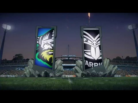 Rugby League Live 3: BE A PRO NRL 2017 (Round 1) Regular Season!