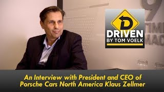 A Look Into the Future of Porsche With CEO Klaus Zellmer