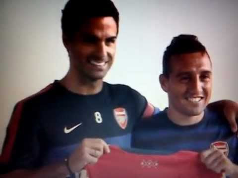Arsenal sign Spain midfielder Santi Cazorla