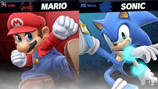 Super Smash Bros. Invitational - Grand Final: Finale ZeRo vs. MkLeo - E3 2018 HD