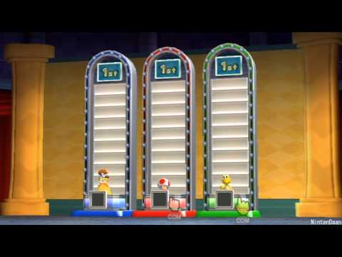 [Mario Party 9] Minigames - Free-for-All Walkthrough #2