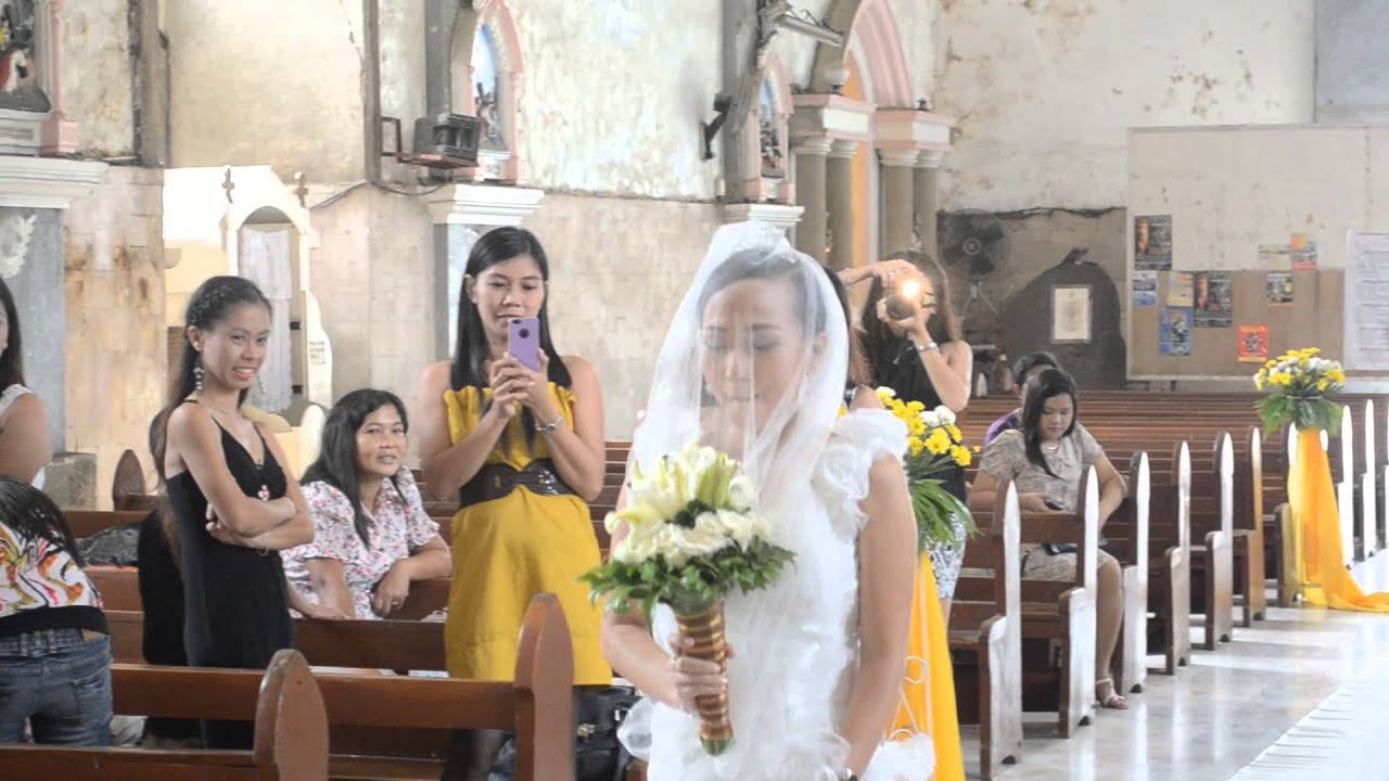 Naga church wedding