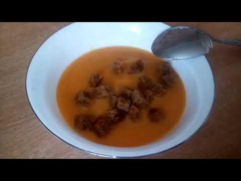 ДП // Овощной суп-пюре с гренками