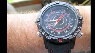 $13 Spy Watch video camera review, Demo & Pros & Cons