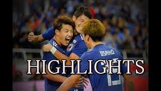 日本代表マジ強い!ウルグアイに4ゴールで勝利!堂安律 大迫勇也 南野拓実がゴール!中島翔哉も大活躍!【サッカー・ハイライト】