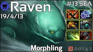 Raven [LOTAC] plays Morphling!!! Dota 2 7.21