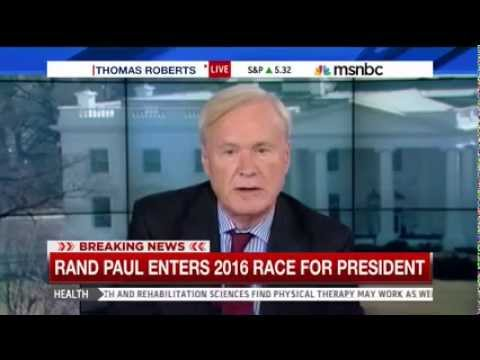 Chris Matthews Goes Nuclear on Ads Attacking Rand Paul