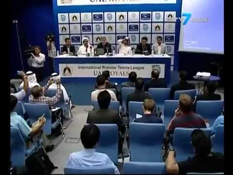IPTL UAE Royals - Official Press Conference (City 7 Dubai)