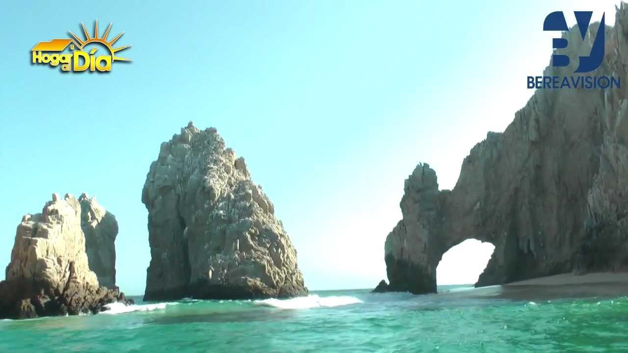 Arco de piedra cabo san lucas youtube for De donde es la roca