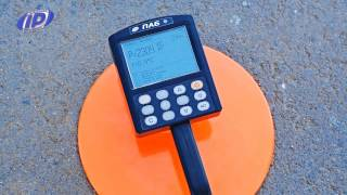 Asphalt concrete density gauge PAB