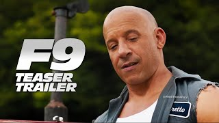 "Fast & Furious 9 - Teaser Trailer | ""Things Change"" (2020)"