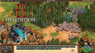 Age of Empires II 👬 051: Meine Elefanten trampeln das Dorf des Gegners nieder