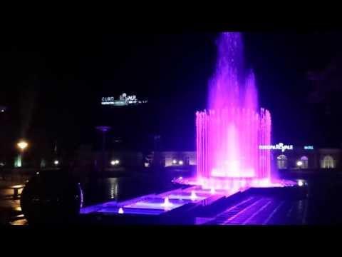 Druskininkų fontanas Eurobasket 2011 -  nebetyli sirgaliai