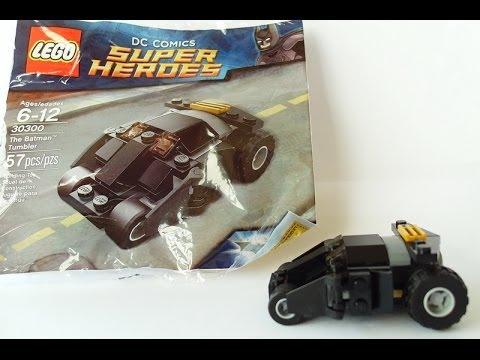 mini-review & build video - Lego Batman mini TUMBLER poly bag set ...