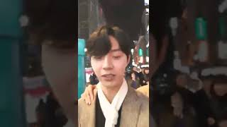 09112018 JunQ Instagram LIVE with Insoo