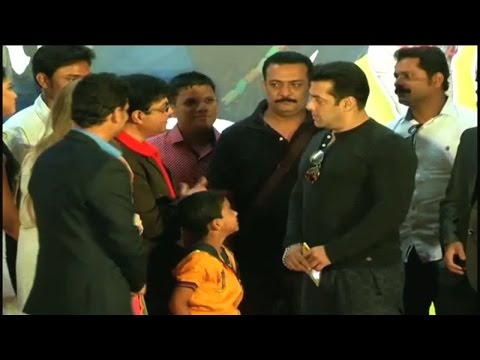Salman Khan Launches Marathi Movie Trailer video
