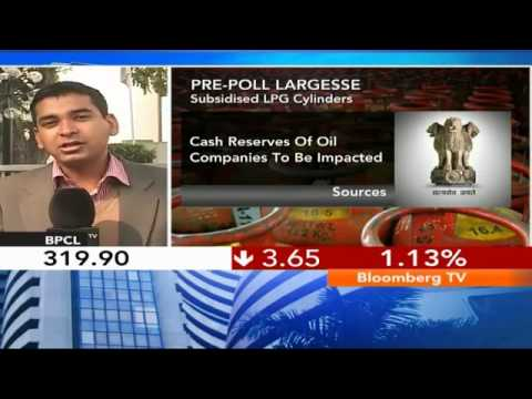 Market Pulse - Govt May Hike Subsidized LPG Cylinders to 12/Yr
