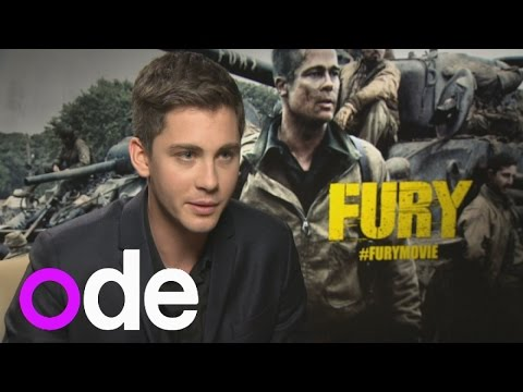 Logan Lerman interview: Fury actor on texting Brad Pitt and loving the English countryside