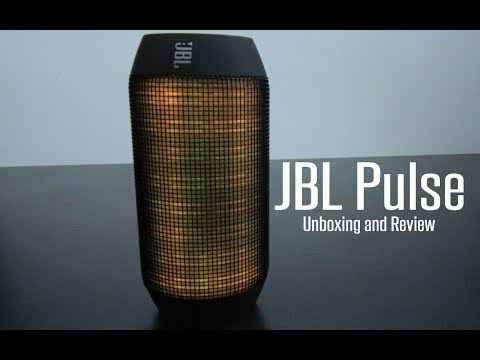 JBL Pulse Bluetooth Speaker with Light show   Unboxing and Review
