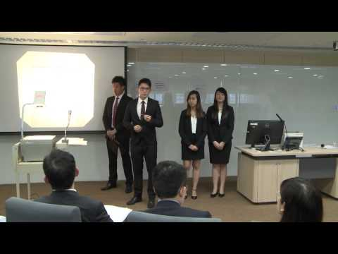 HSBC / HKU Asia Pacific Business Case Competition 2015 Round 2D1 National University of Singapore