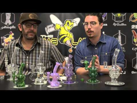 DAB LAB TV - Chip Glass Fab Egg Rigs & Klein Recyclers at TheDabLab.com