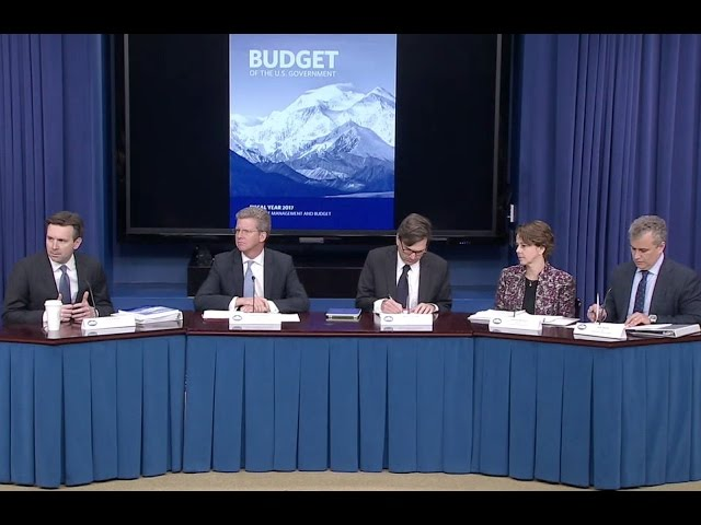 Senior Administration Officials Discuss the President's FY2017 Budget