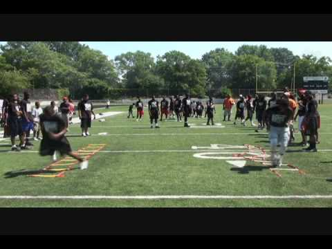 2009 Ted Ginn Jr. Speed and Skills Camp Video