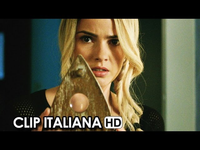 Ouija Movie CLIP italiana 'Il Contatto' (2015) - Stiles White Horror Movie HD