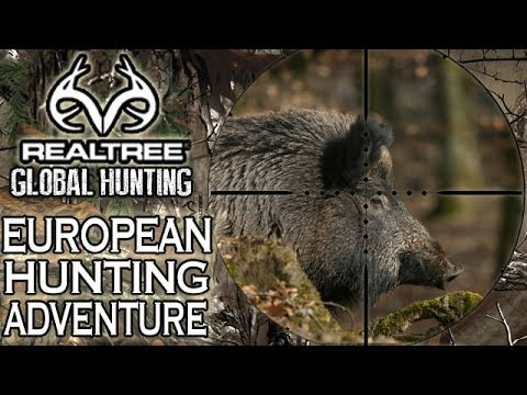 European Hunting Adventure: Driven Wild Boar Hunt video
