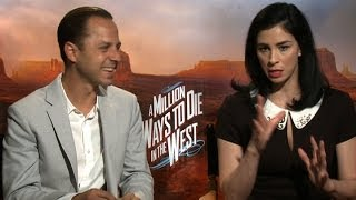 Giovanni Ribisi and Sarah Silverman on making raunchy humor with heart