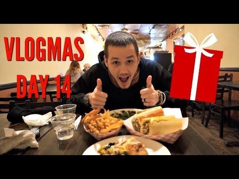 VLOGMAS DAY 14: BEST VEGAN RESTAURANT IN PHILLY!
