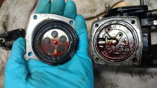 1998 SeaDoo SPX 787 Rotax Carb Removal and Cleaning: Part 2