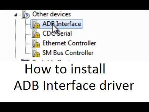 Скачать драйвер ADB Interface