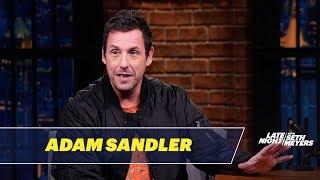 Adam Sandler Shared an SNL Office with Chris Farley, Chris Rock and David Spade