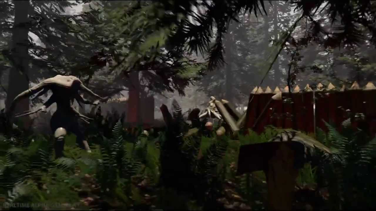 how to open console on the forest