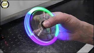 LED Hand Spinner Fidget Toy - Fai da te - Life Hack by GP FAI DA TE
