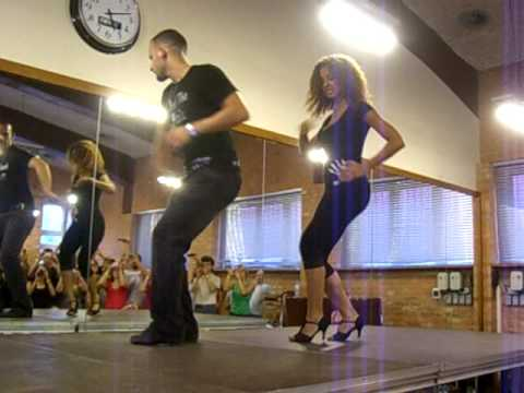 Ataca & Alemana in Poland at Bachaturo - Bachata Shines